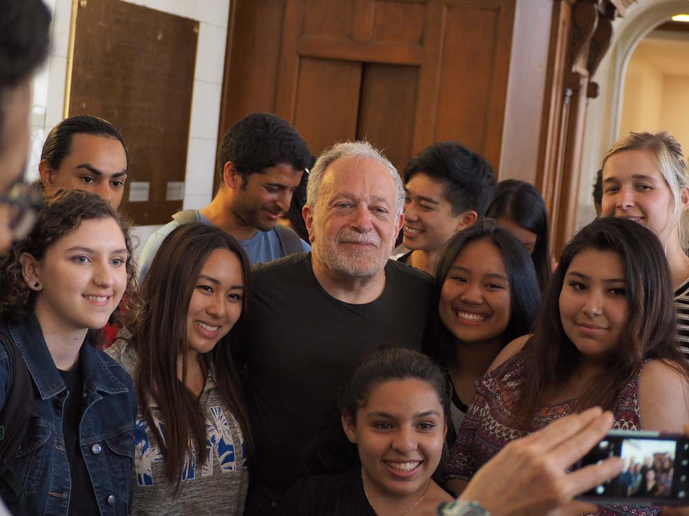 Robert Reich on location