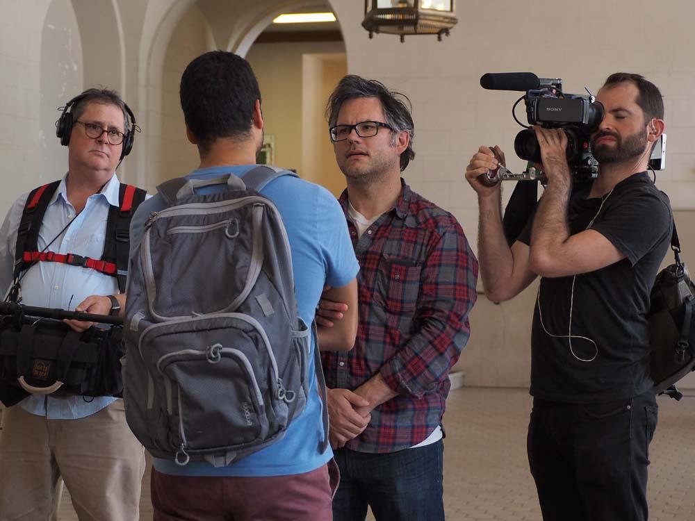 Jacob Kornbluth Interviews Students